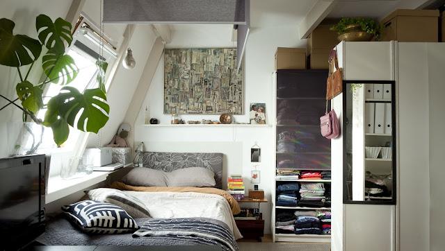 decoracao kitnet barata:Blog Achados de Decoração: KITNET CHARMOSA: ela mora em 30m2