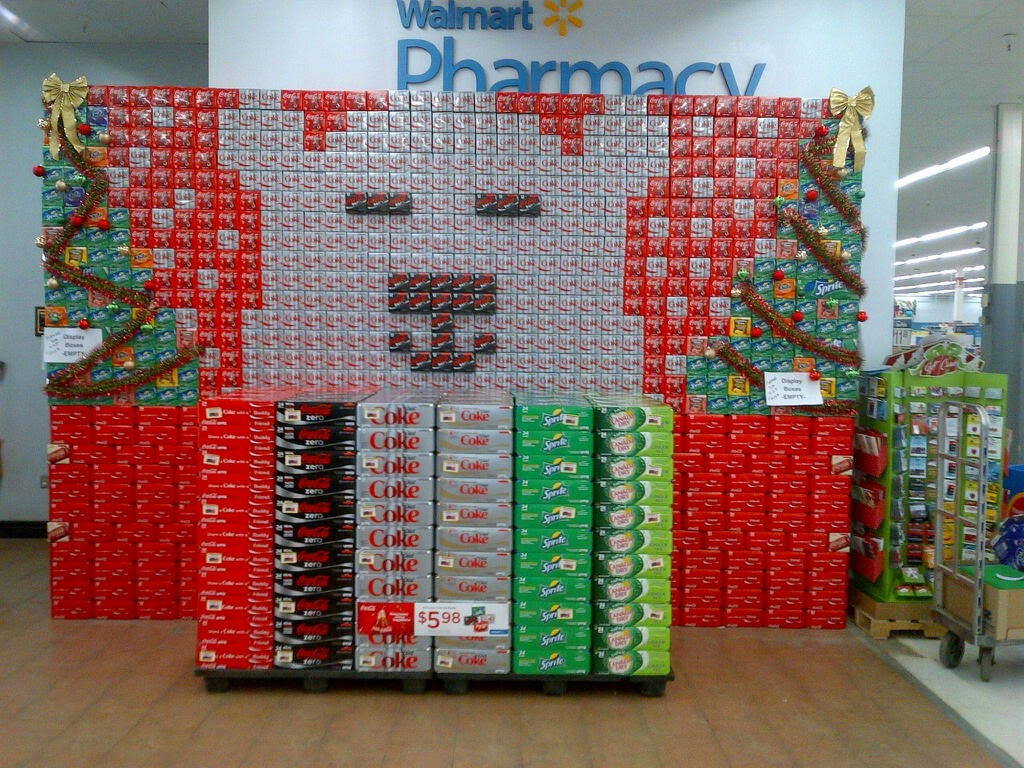 news nice job on the wonderful christmas display by drew maxfield sr account manager ryan ritchie junior account manager ron osborne merchandiser