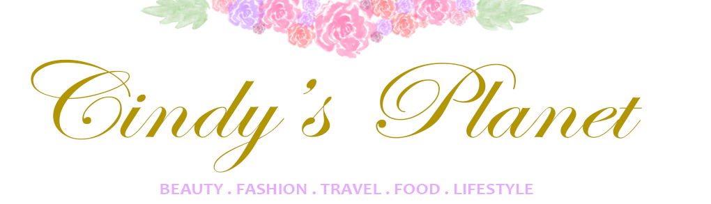 Cindy's Planet: Malaysia Beauty, Fashion & Travel Blog