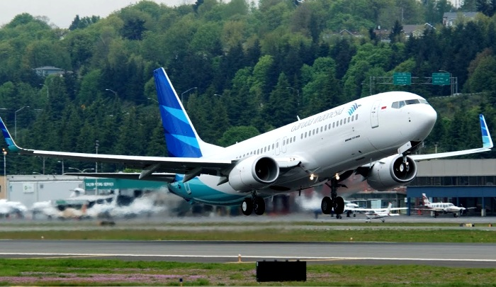 Boeing 737 800NG Garuda Indonesia