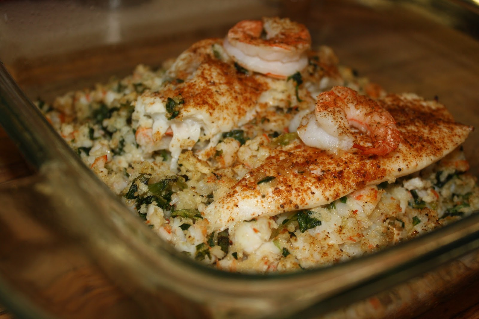 Baked tilapia fish and shrimp recipes for How to make tilapia fish