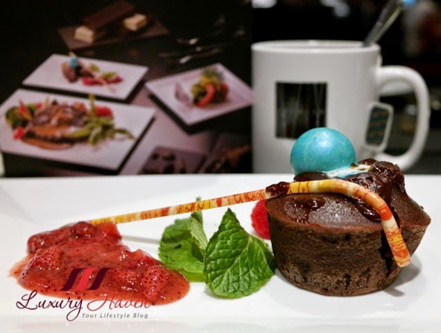spices cafe choctober festival lava cake review