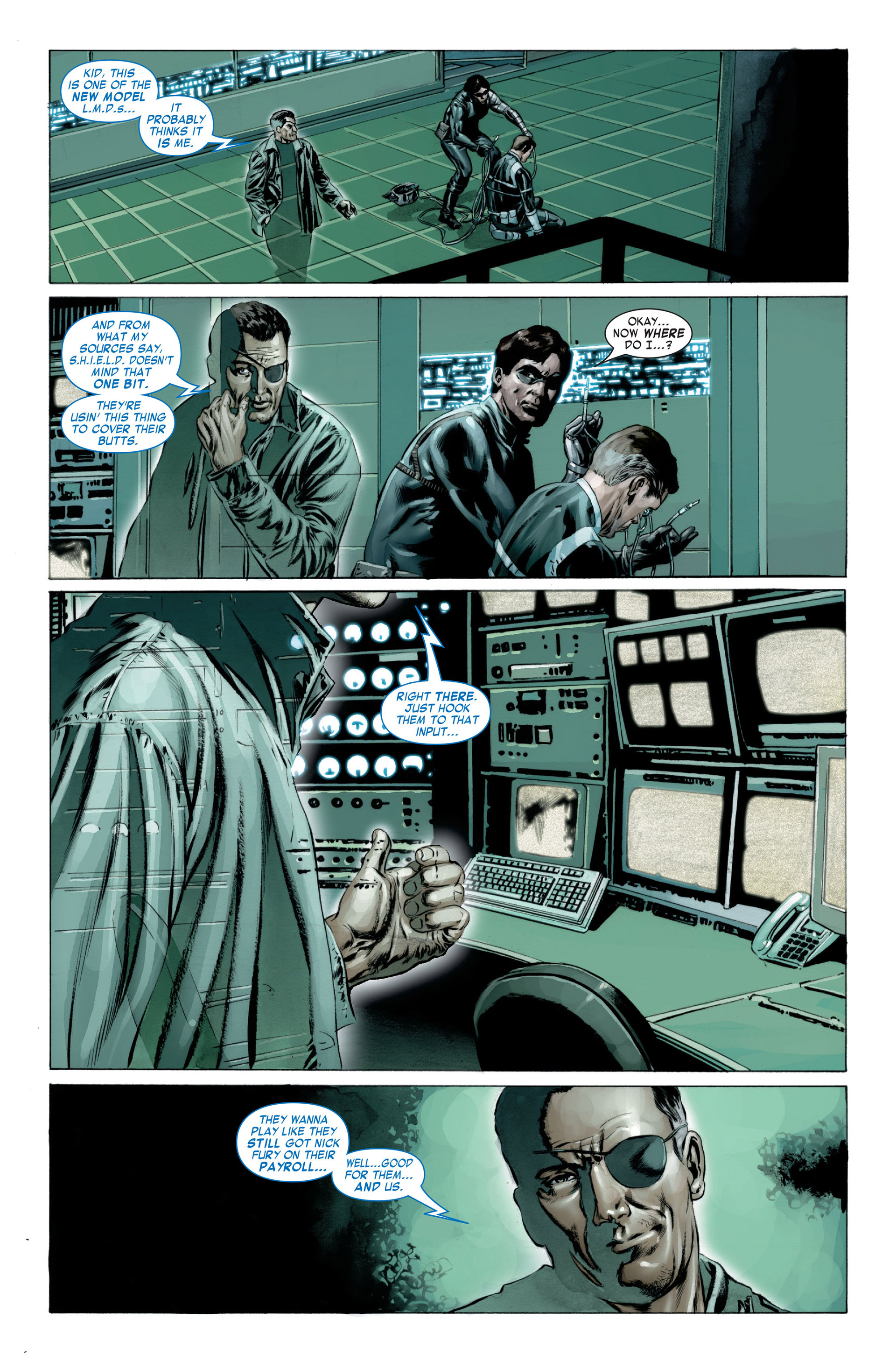 Captain America (2005) Issue #23 #23 - English 7