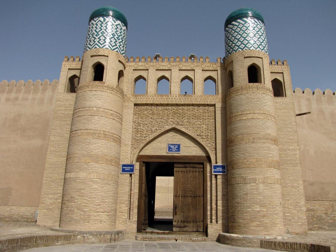 Uzbekistán, Khiva - Palacio Kuhna Ark