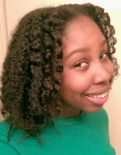loose waves on natural hair