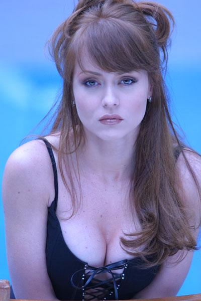 Actress Gabriela Spanic
