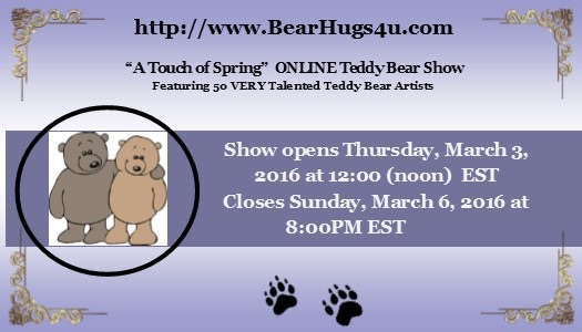 A 'Touch of Spring' On line Show