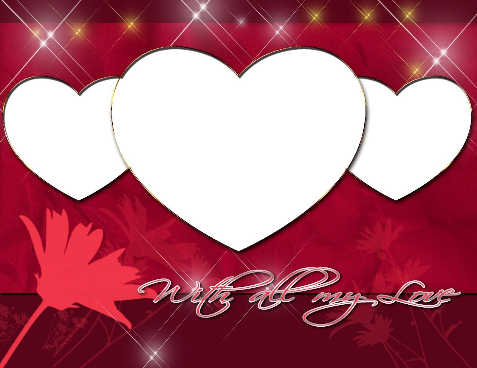 Descargar marcos de amor para fotos png gratis - Imagui