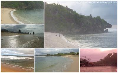 Pemandangan di Sekitar Pantai Sundak