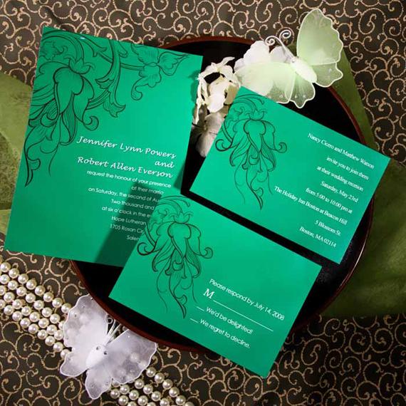 Wedding Inspiration Center Stylish Vintage Wedding Invitations