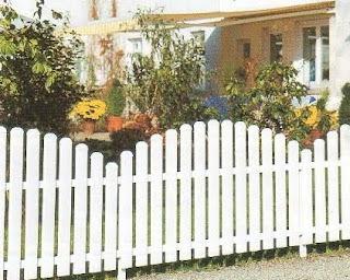 Ahsap Bahce citleri3 Bahçe çit modelleri
