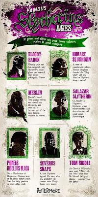 Sette Serpeverde famosi nella storia