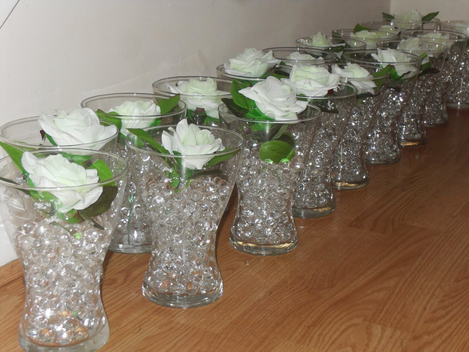 Lara party hire crystal chandelier table centerpiece set for Small centerpieces for tables