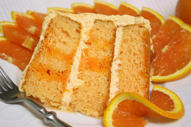 Orange Dreamsicle Layer Cake Recipe - Key Ingredient
