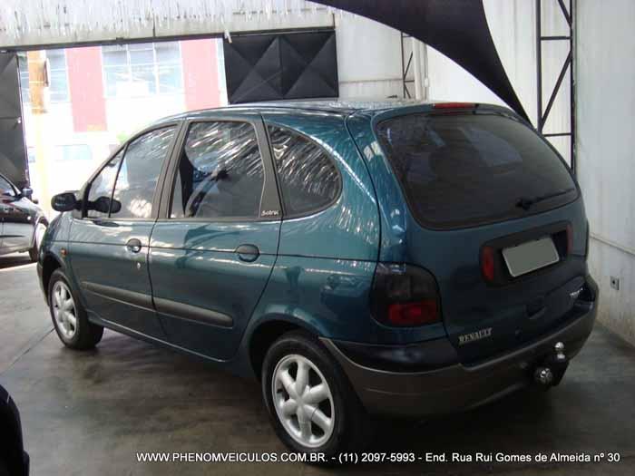 Renault Scenic 1999 RXE 2.0 manual à venda - Preço R$ 16.500