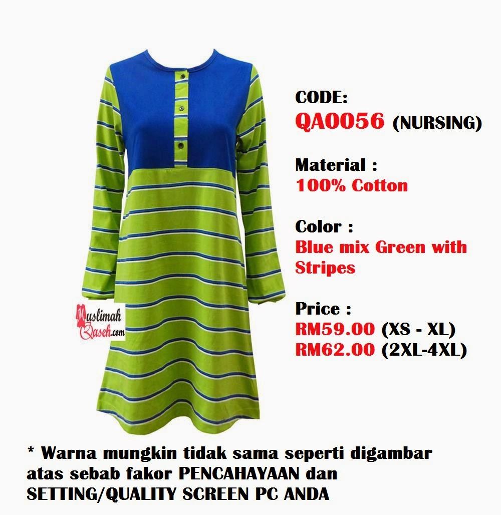 T-Shirt-Muslimah-Qaseh-QA0056D