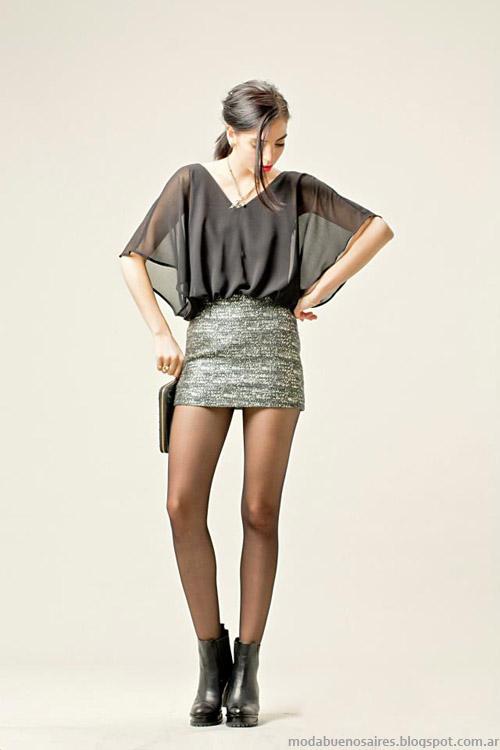 blusas Otoño invierno 2013 Moda Paris by Flor Monis