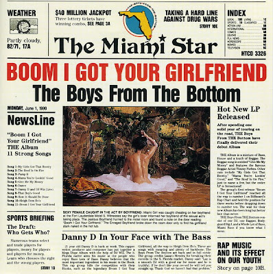 The Boys From The Bottom – Boom I Got Your Girlfriend (CD) (1990) (320 kbps)