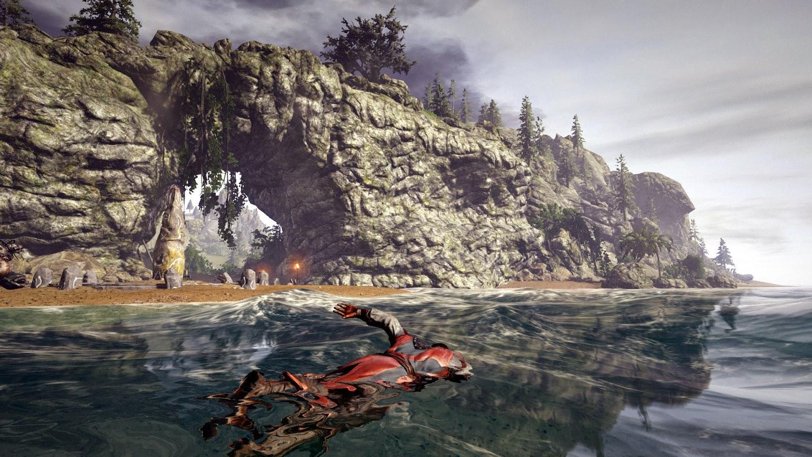 Uno de los paisajes de Risen 3 titan lords