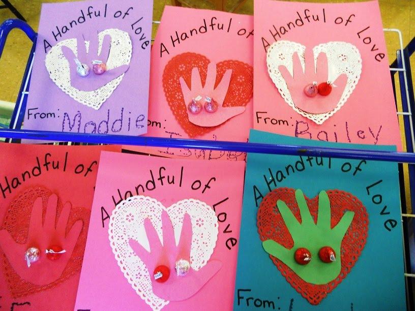 Preschool Playbook Prepping for Valentines Day – Valentine Card Preschool