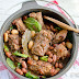 Pork Rib Stew With Beans, Tomatoes And Spinach Recipe