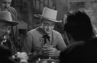 John Wayne in 'Tall in the Saddle' (1944)
