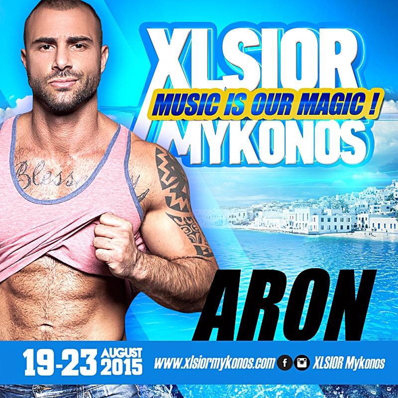 XLSIOR MYKONOS 2015 - (ARON Podcast)