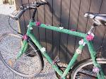 Strikket cykel