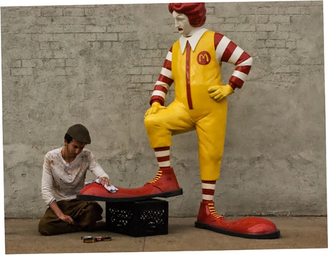 """""""All City - McDonalds"""" New Installation By Banksy For Better Out Than In - Day 16 1"""