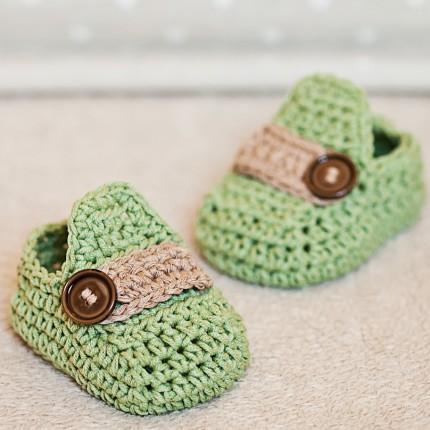 Baby Moccasins - Free Pattern