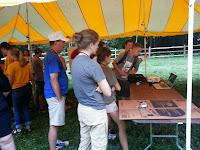 Volunteers learning Foxfire Mountain Sevierville, TN