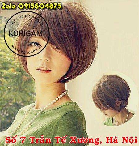 tomboy, tóc nữ, tém, uốn, hair color,