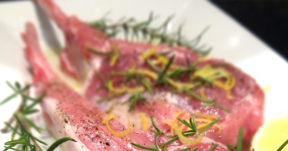 ... : Grilled Tuscan-Style Veal Chops with Lemon Gremolata