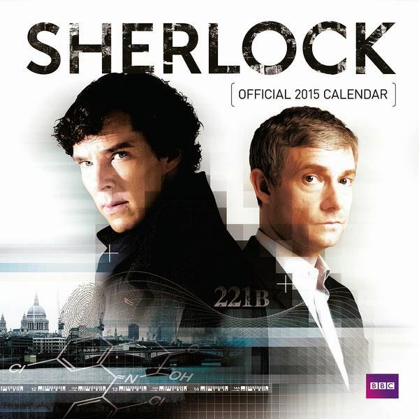 Calendario serie Sherlock 2015