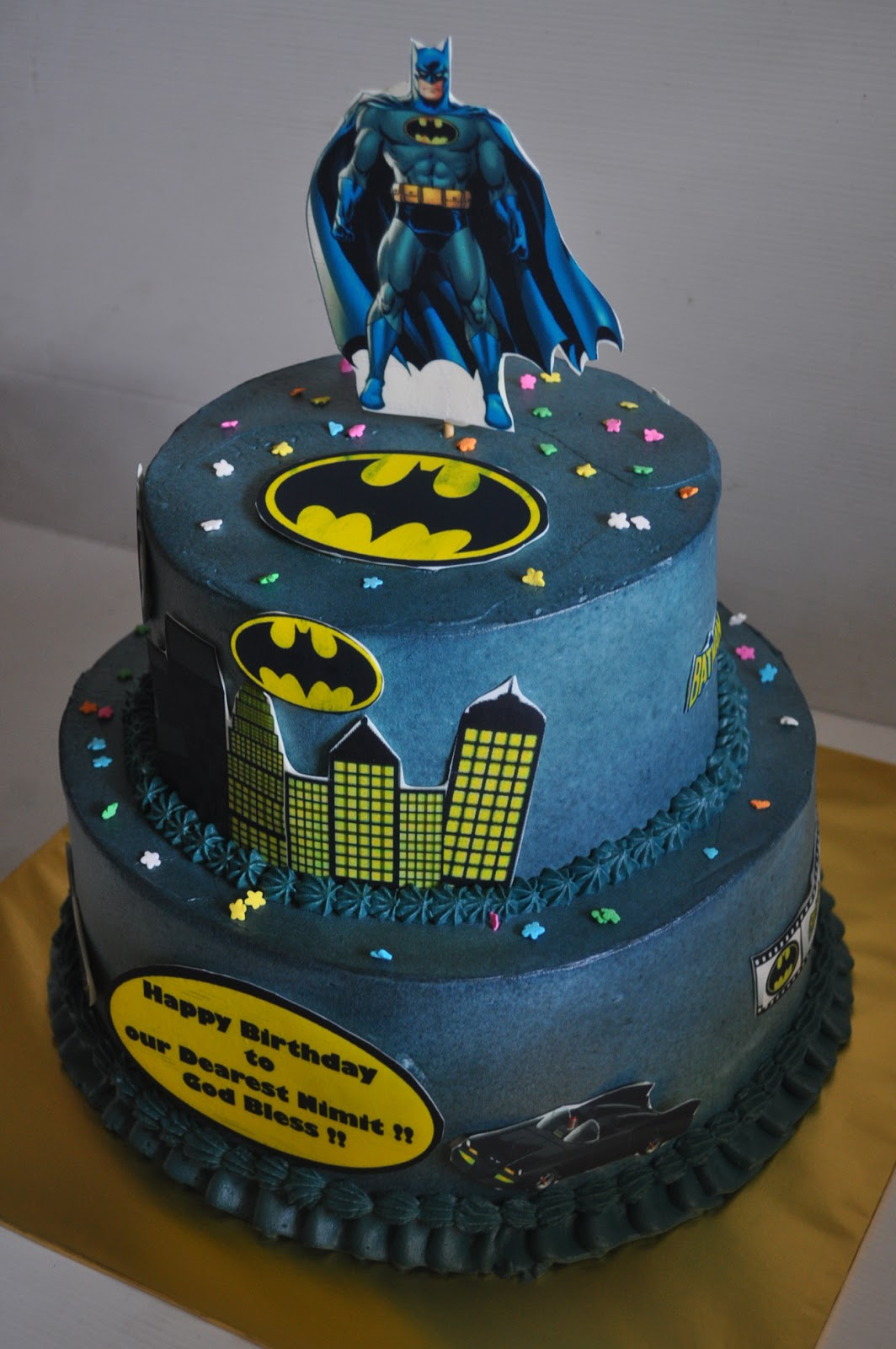 Izah S Kitchen Batman Theme Cake
