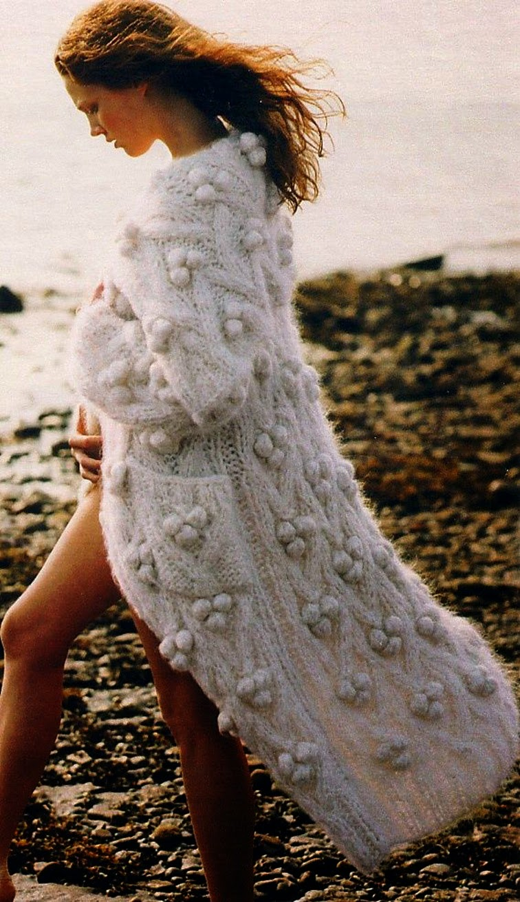 Chunky oversized knit blanket sweater coat, cliffside, northern california, socal, free spirit