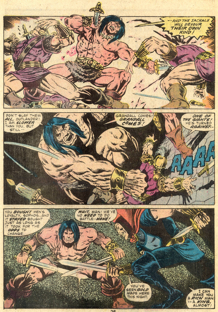 Conan the Barbarian (1970) Issue #64 #76 - English 17