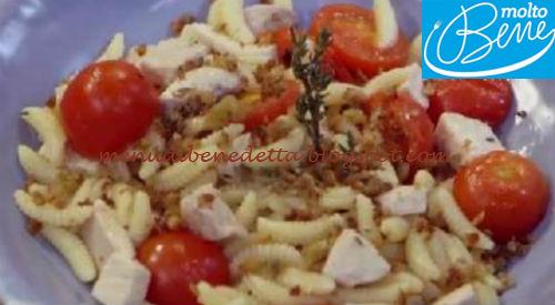 Malloreddus pesce spada e pomodorini ricetta Parodi per Molto Bene