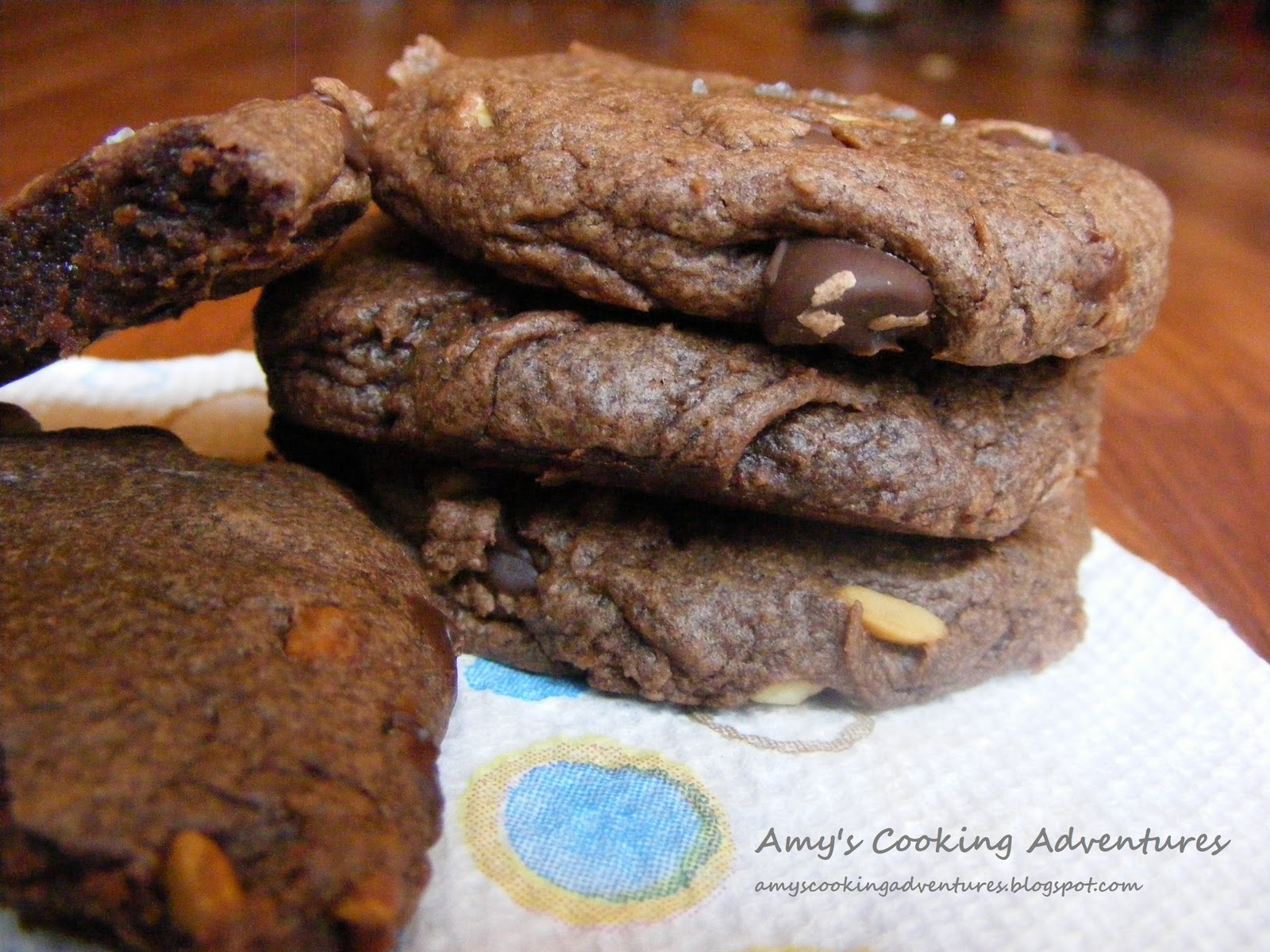 Easy Double Chocolate Peanut Butter Cookies
