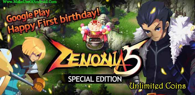 ZENONIA® 5 v1.1.8 Offline Unlimited Coins APK Free Download
