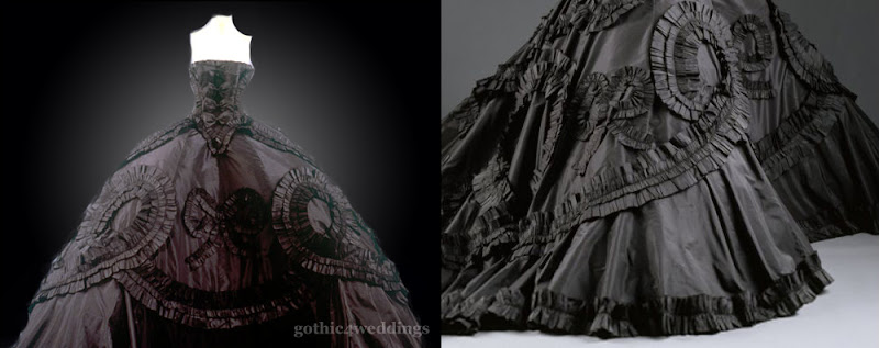 Gothic Galliano Wedding Dresses