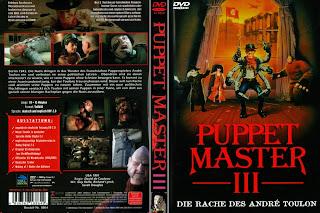Carátula dvd: Puppet Master 3: La venganza de los Muñecos 2 (1991 - Puppet Master III: Toulon's Revenge)