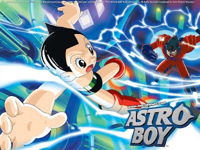 Astro boy, anime pertama yang ditayangkan diluar Jepang