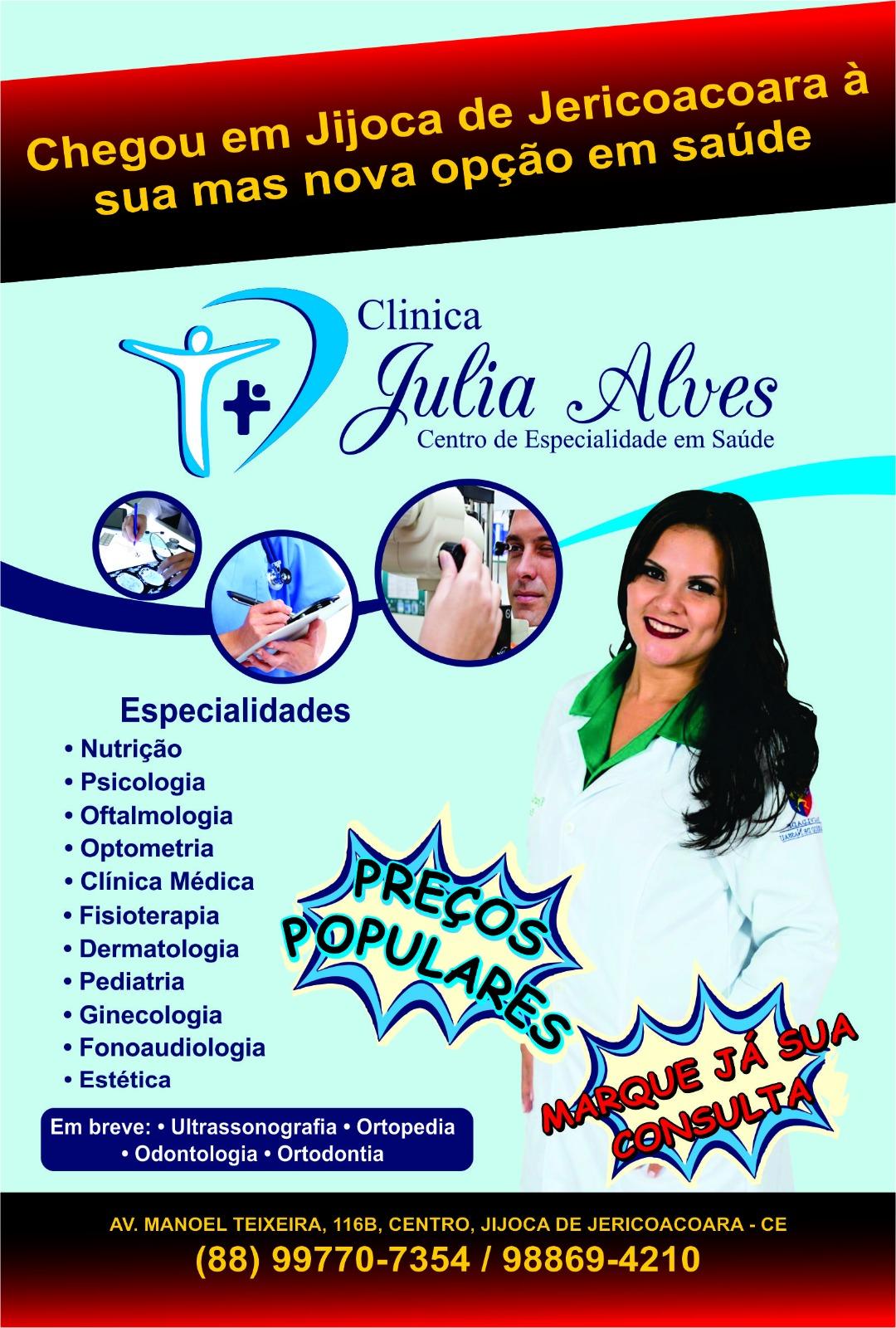 Clínica Júlia Alves - Jijoca