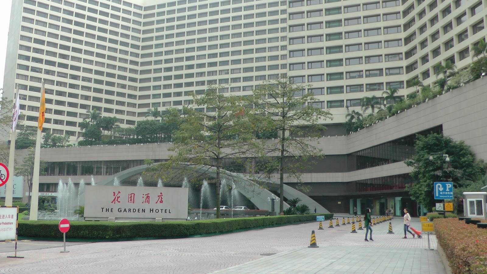 Lobby Of The Garden Hotel