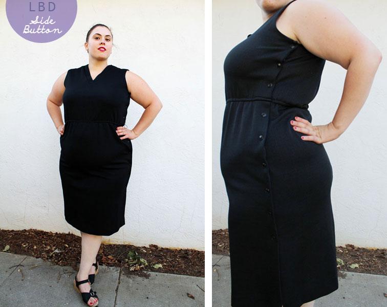 The Curvy Elle: Little Black Dress (Plus Size)