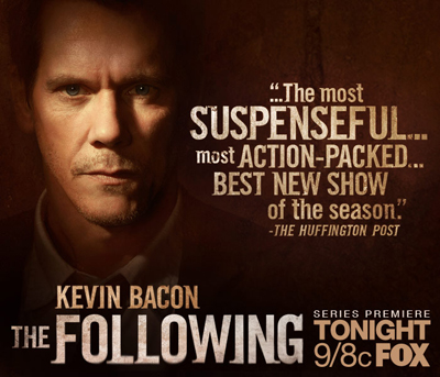 THE FOLLOWING (new TV series on FOX)