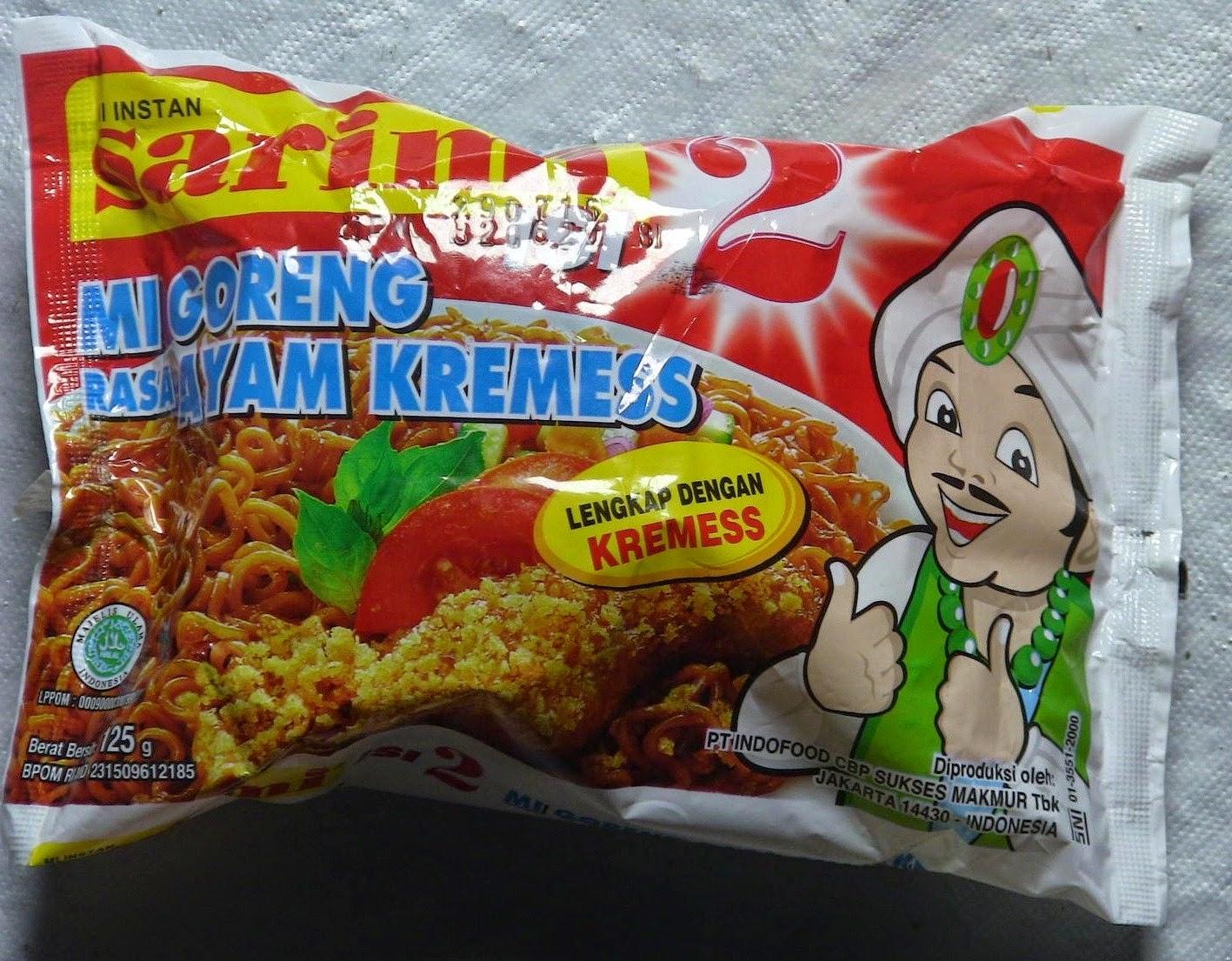 Mi Goreng Rasa Ayam Kremes dari Indo Food