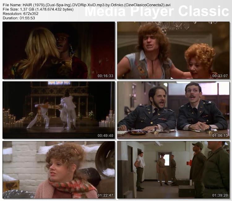 Hair (1979) | secuencias de la película