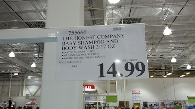 The Honest Company Baby Shampoo and Body Wash at (item 755666) Costco